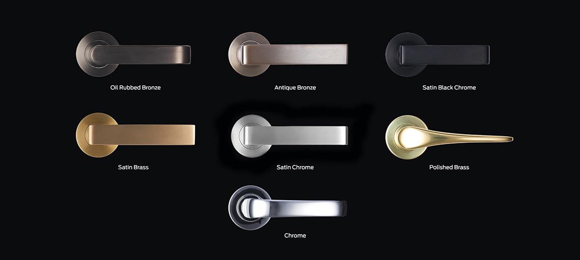 Legge Luxe Handle Finishes